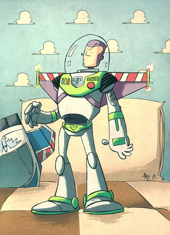 Buzz Lightyear Of Star Command by tyrannus
