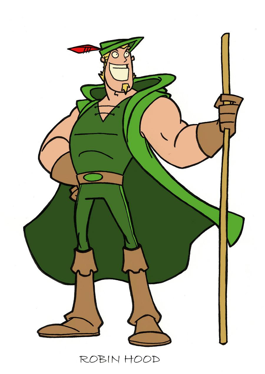 Robin Hood Cartoon Characters : Robin hood cartoon characters