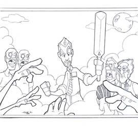 Shaun of the Dead by tyrannus
