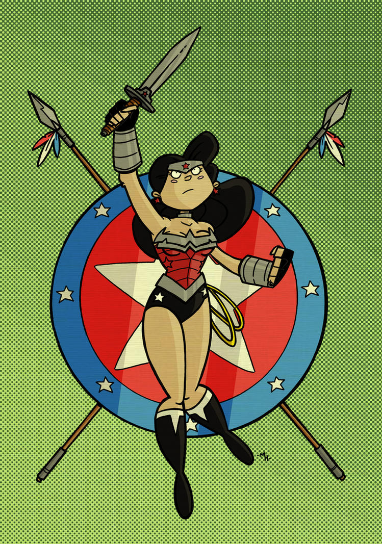 Wonder Woman by tyrannus