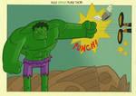 Hulk SMASH puny Thor