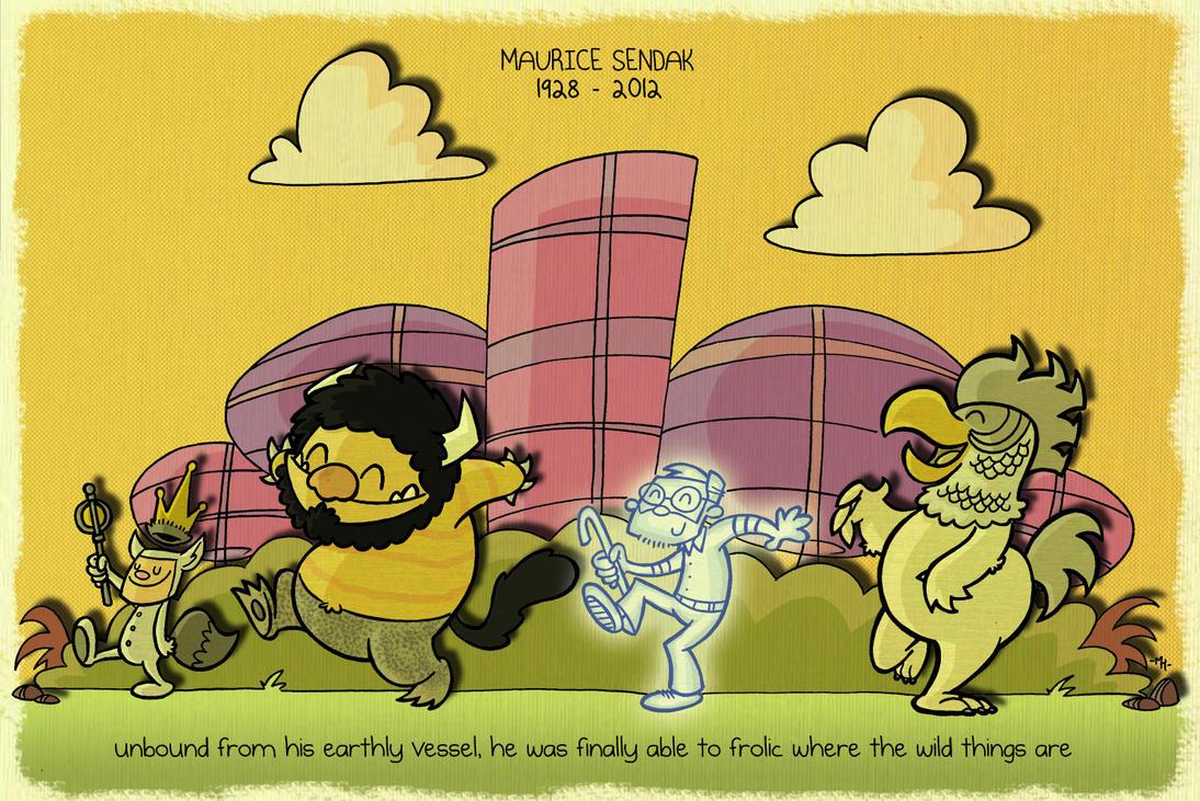 A Tribute to Maurice Sendak by tyrannus
