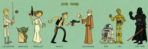 Star Wars by tyrannus