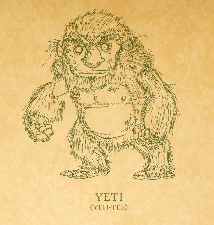 The Yeti by tyrannus