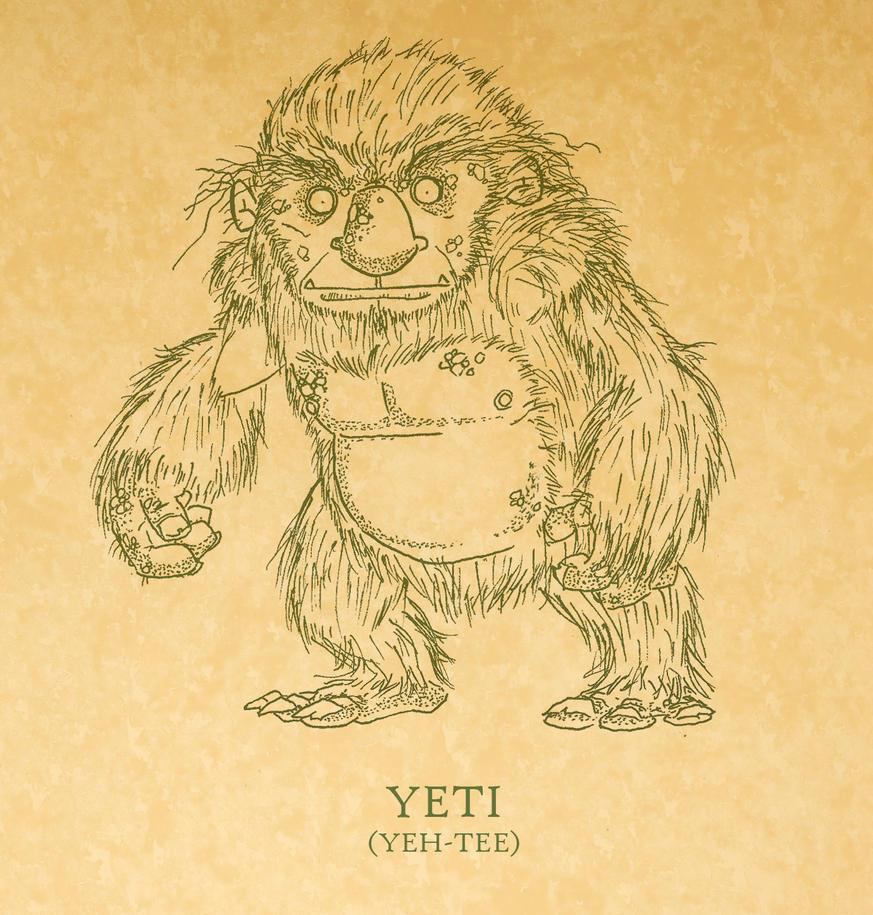 The Yeti by tyrannus