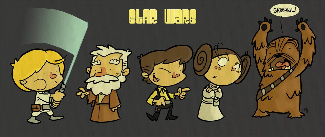 Lil' Star Warriors by tyrannus