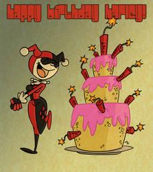 Happy Birthday Harley! by tyrannus