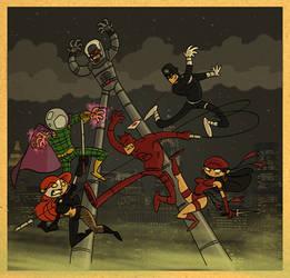 Daredevil and Co.