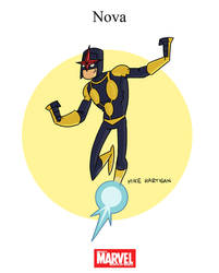 Mighty Marvel Month of March - Nova