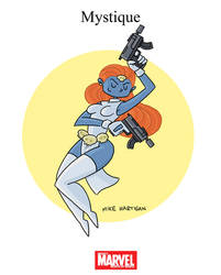 Mighty Marvel Month of March - Mystique by tyrannus