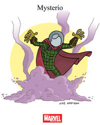 Mighty Marvel Month of March - Mysterio