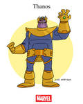 Mighty Marvel Month of March - Thanos
