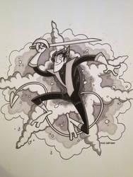 Commission - Nightcrawler by tyrannus