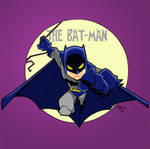 Lil Batman Colored