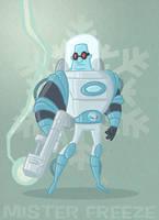 Mister Freeze by tyrannus