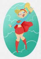 Supergirl by tyrannus