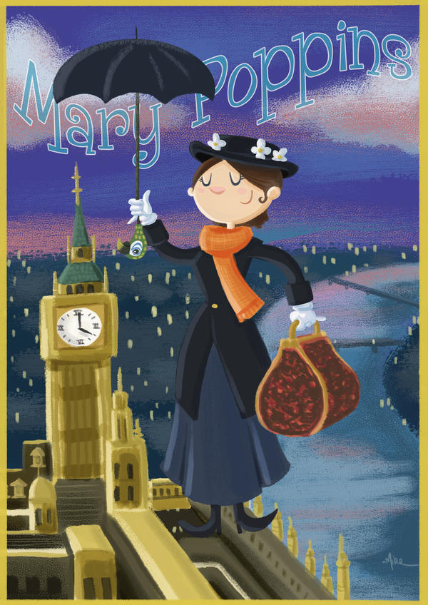 Mary Poppins by tyrannus
