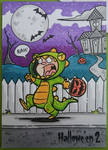 Trick or Treat sketch card