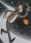 Doctor Who sketch card