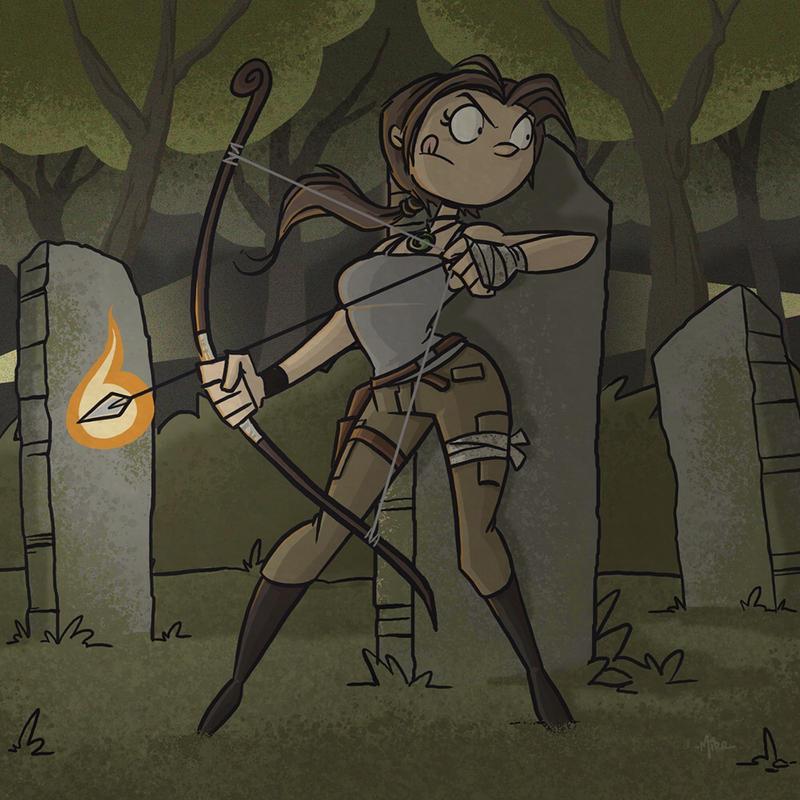 Lara Croft: Tomb Raider by tyrannus