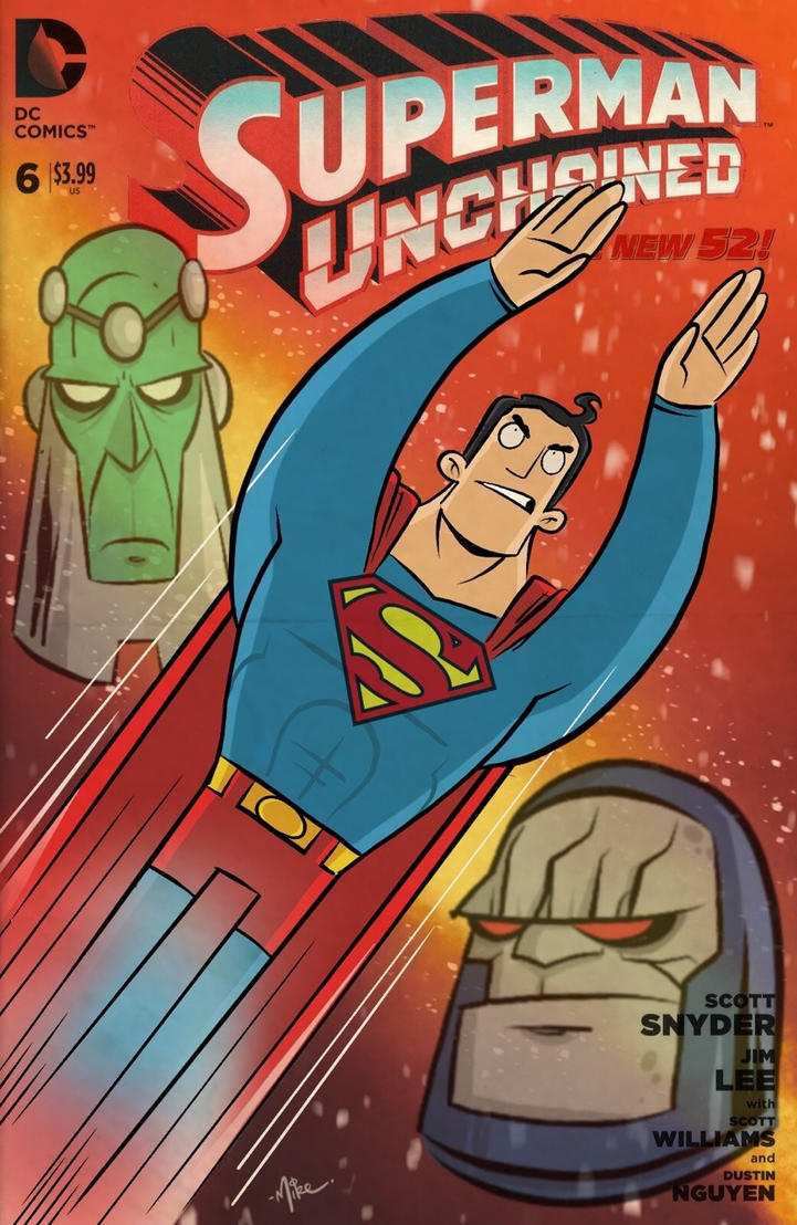 Superman - digital sketch cover by tyrannus