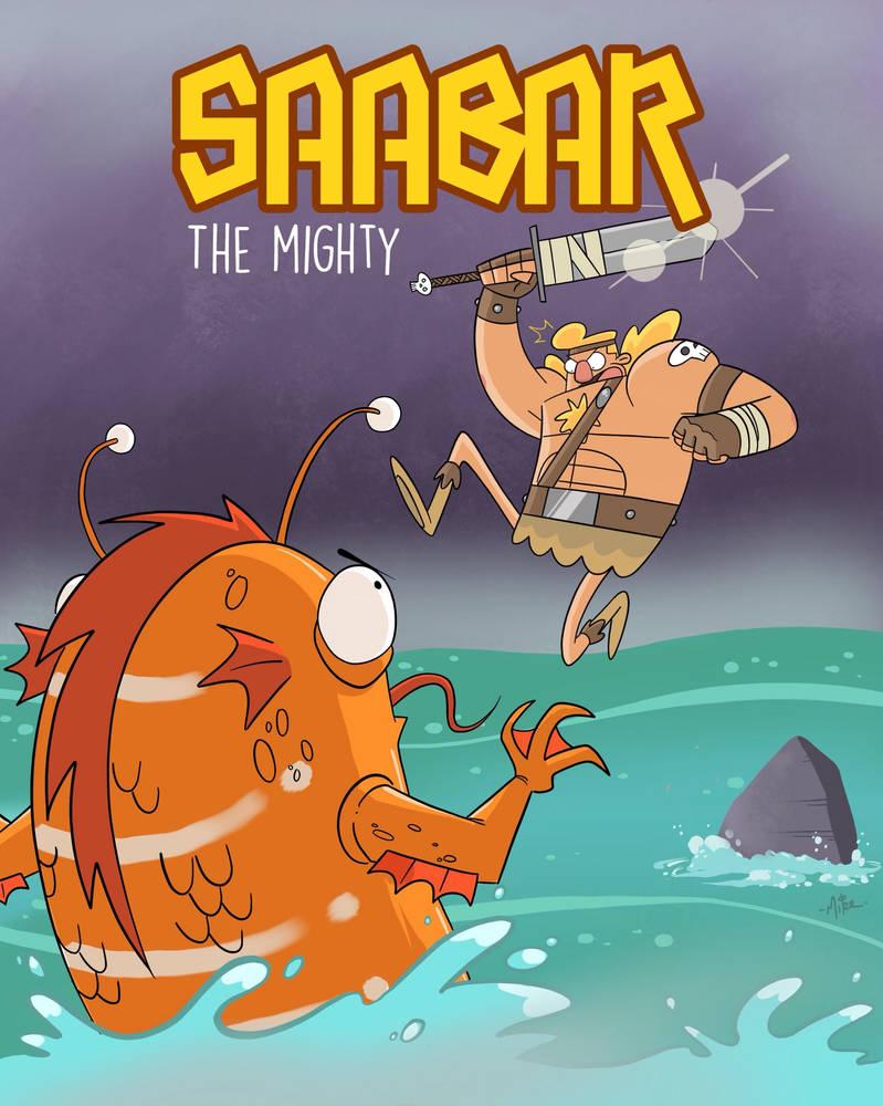 Saabar the Mighty vs King Koi by tyrannus