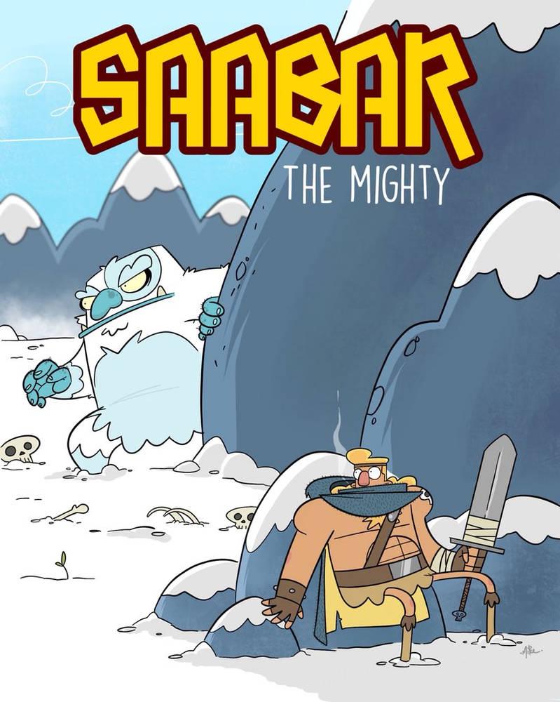 Saabar and the Yeti by tyrannus