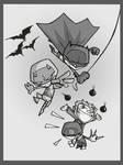 batman - that crazy daredevil by tyrannus