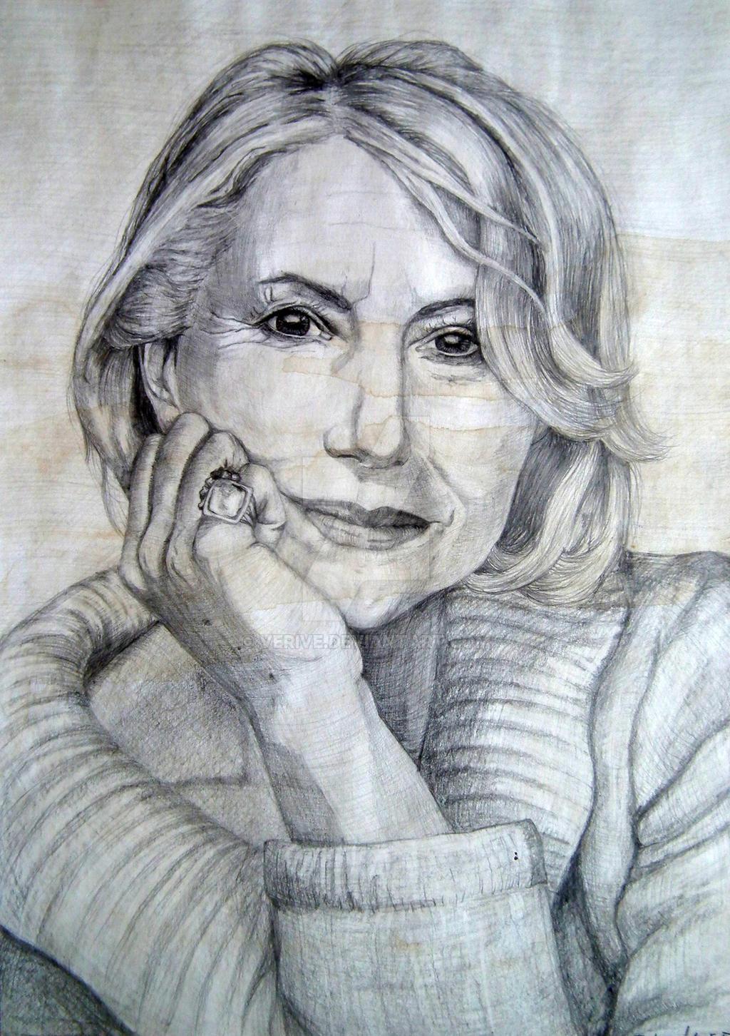 Helen Mirren by verive