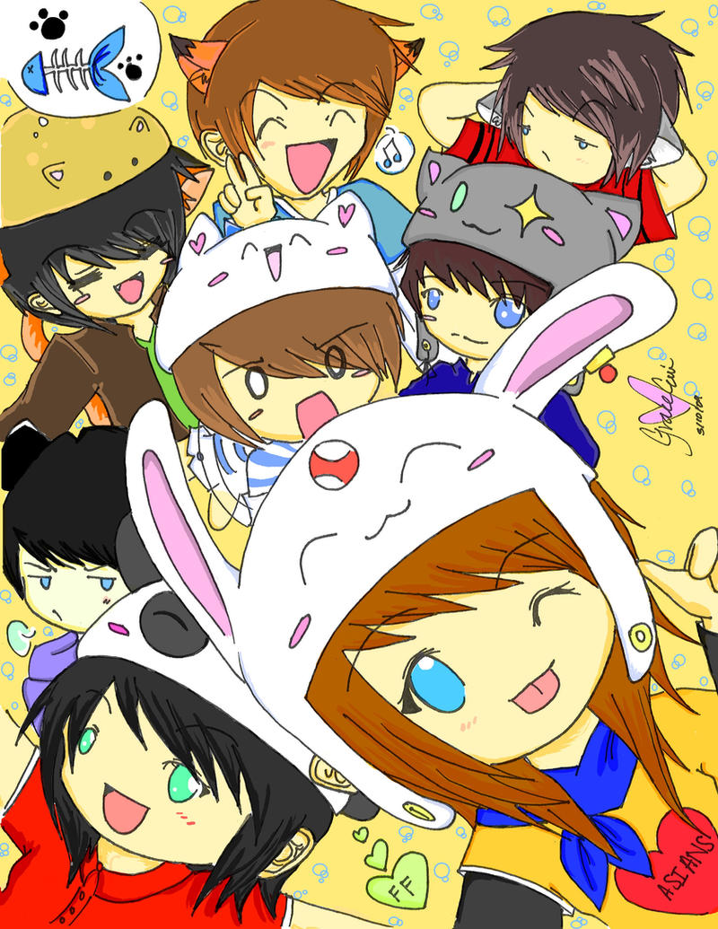 Friends by MochiTsunami