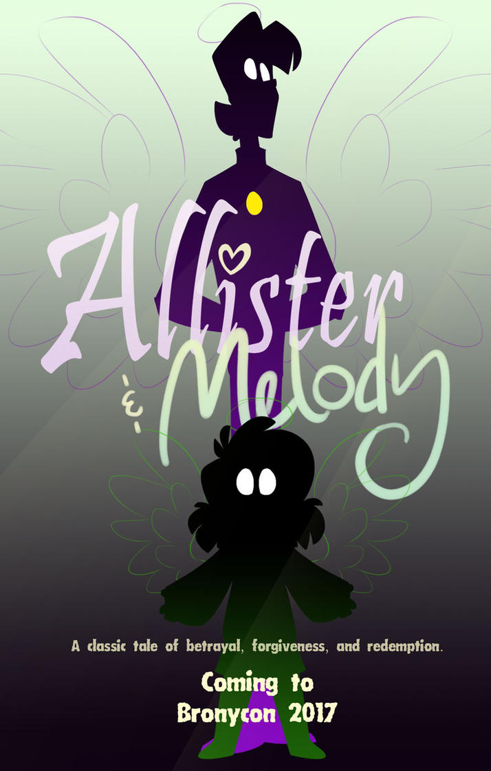 Allister and Melody poster by Luximus17