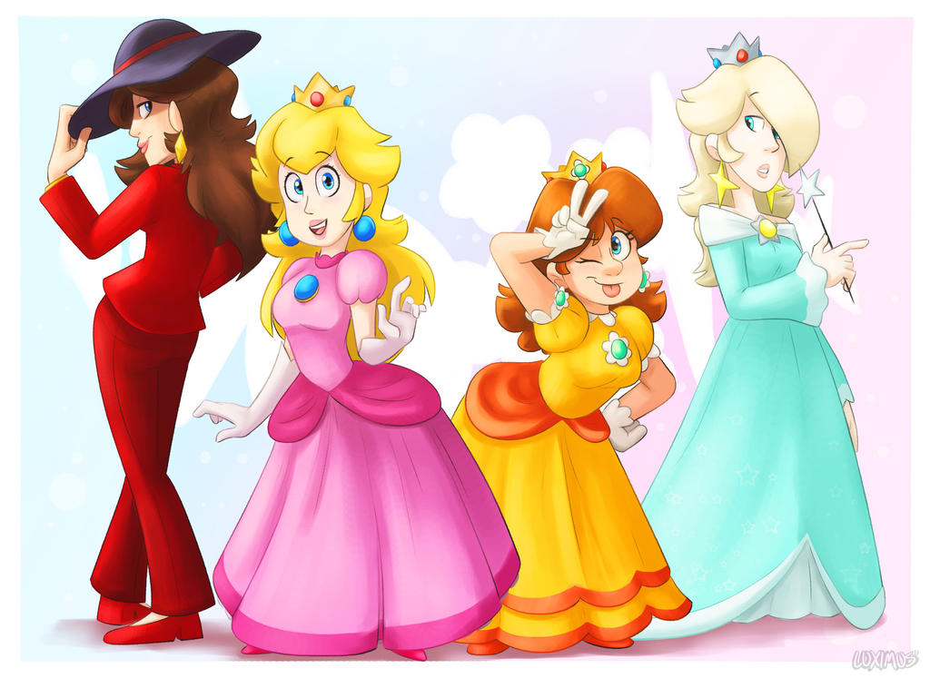 Princesses by Luximus17