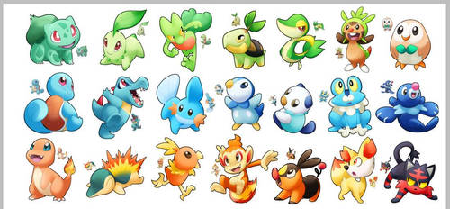 Starter Stickers by Luximus17