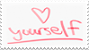 Love Yourself stamp by XxTove-Love99xX