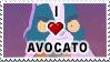 Avocato stamp