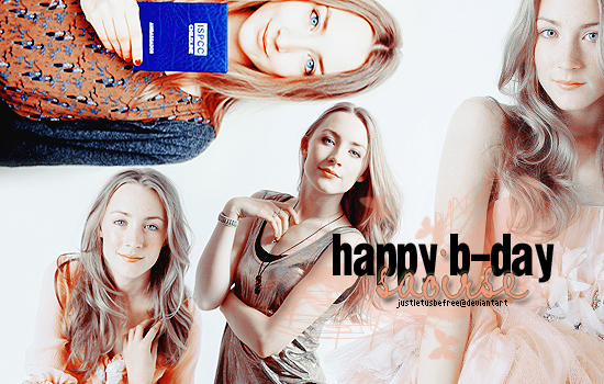 Happy Birthday Saoirse by justletusbefree