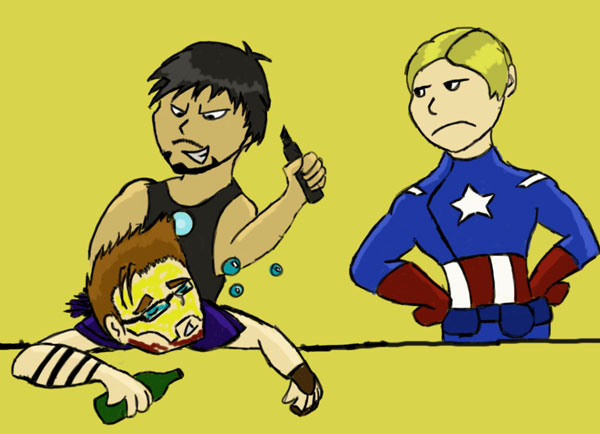 Dont Pass Out Unless Tony Has by RedTigress