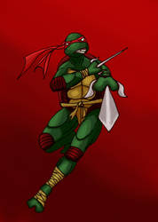 TMNT-Raphael by RedTigress