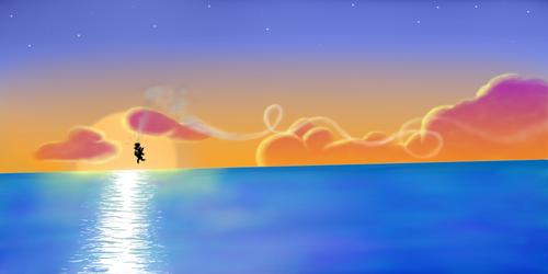 Sunset Jetpack Joyride