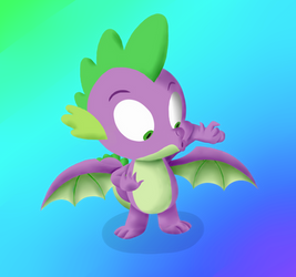 It's ya boi Spike, but this time with wings.