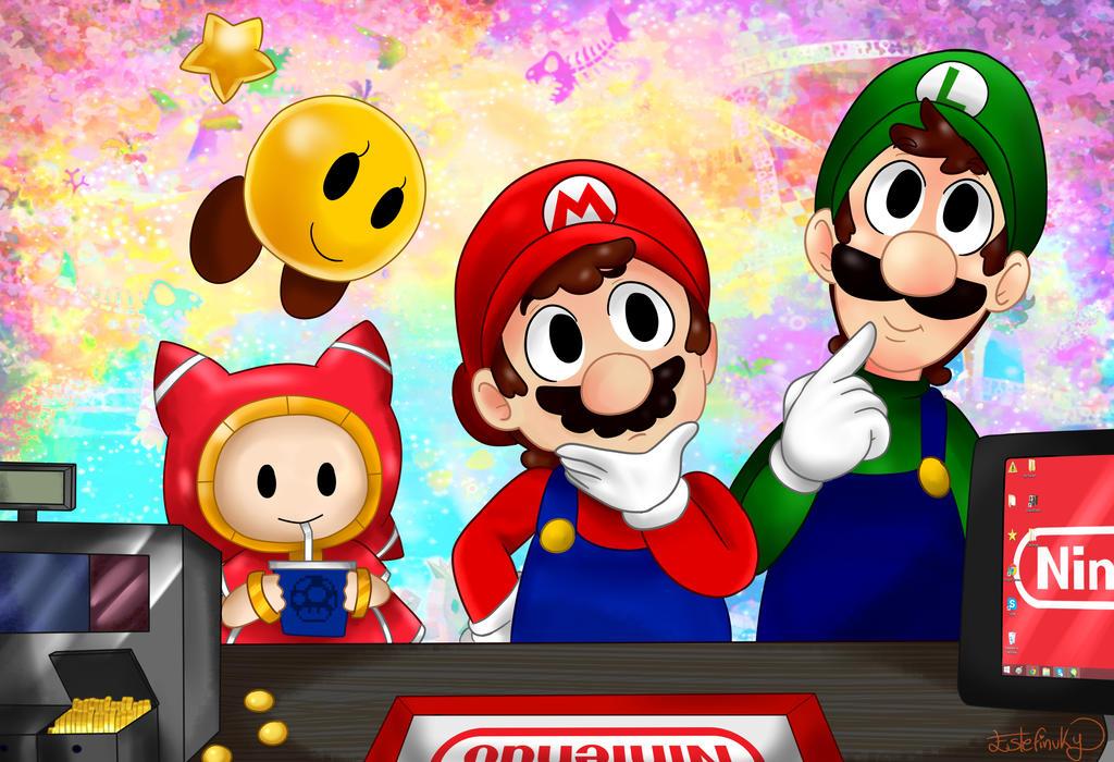 Mario And Luigi Dream Team Bros By Estefinuky On Deviantart