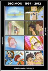 Digimon: Adventure and Frontier (1997-2012) by 3D4D