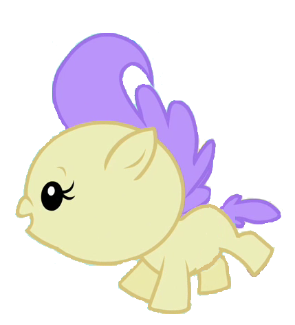 Cream Puff is the best baby pony ever by 3D4D on DeviantArt
