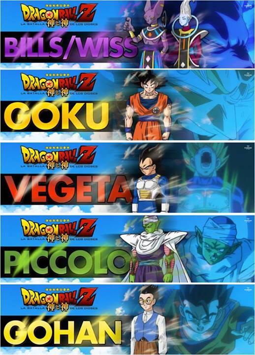 Dragon Ball Z: La Batalla de los Dioses by 3D4D