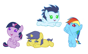 Baby Pony Madness by 3D4D