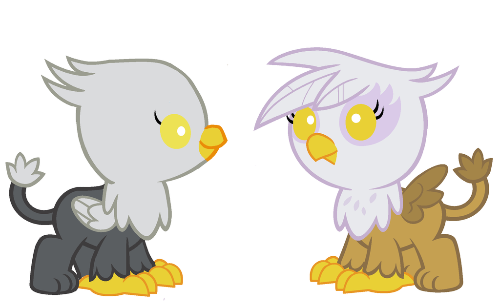 Gustave le Grand and Gilda as Babies by 3D4D