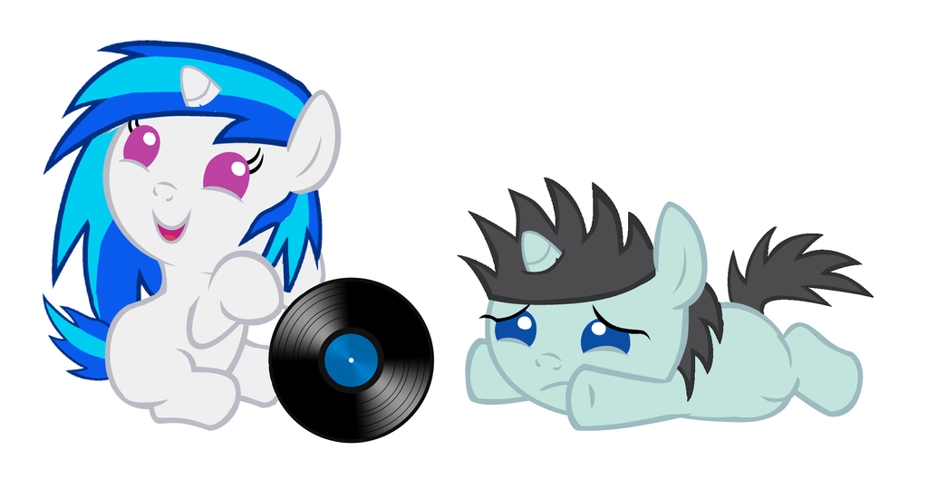Vinyl Scratch And Neon Lights Fanfic The Gallery For