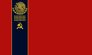 Mexcian Soviet Socialist Republic Flag