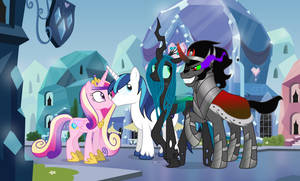 Unusual Love in the Crystal Empire