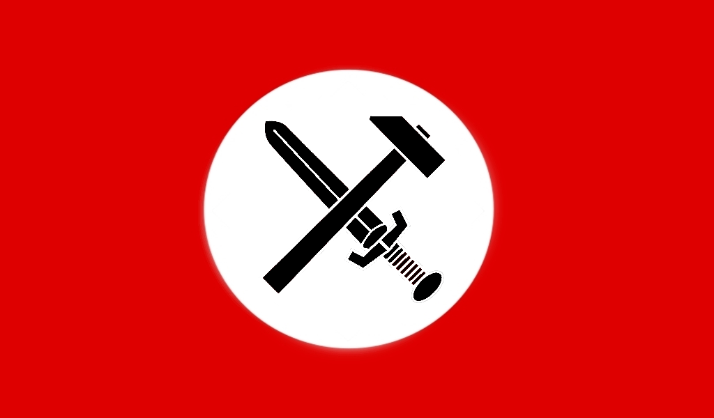 Alternate Nazi Germany Flag by 3D4D on DeviantArt